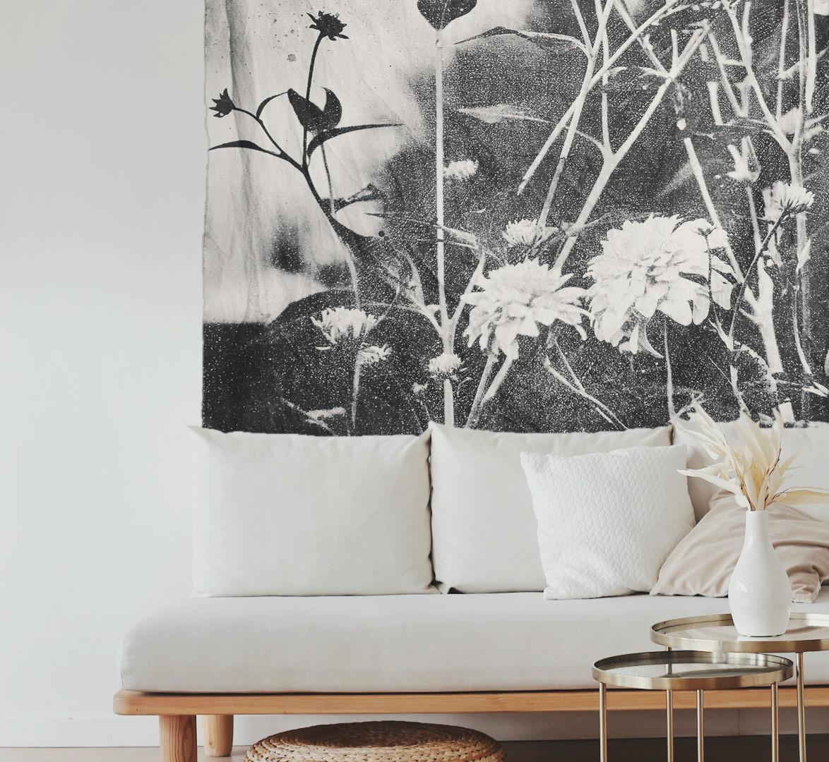 Wild Soul White Sofa Black &