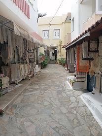 Ruelle broderies Fodele, Crete