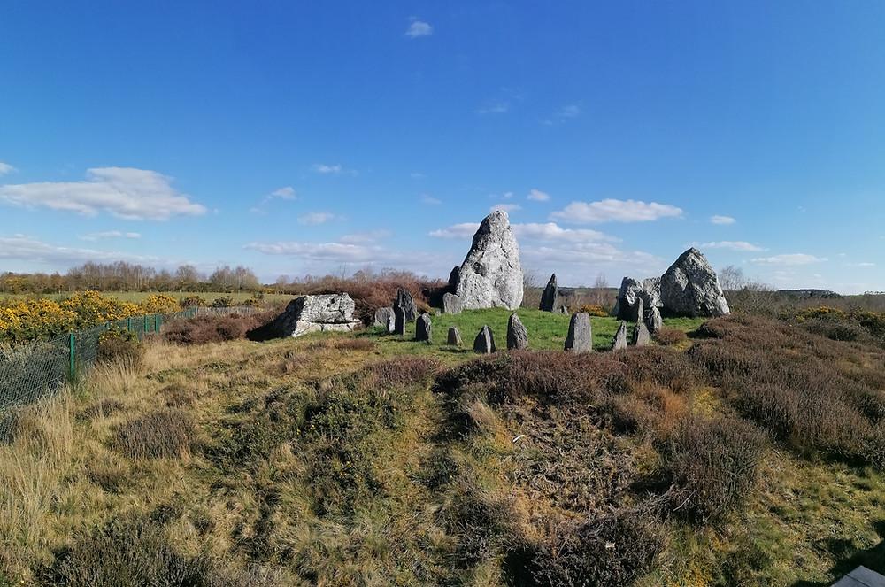 Mégalithes en Bretagne