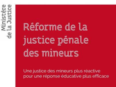 Nicole Belloubet présente son projet de réforme de la Justice pénale des mineurs.