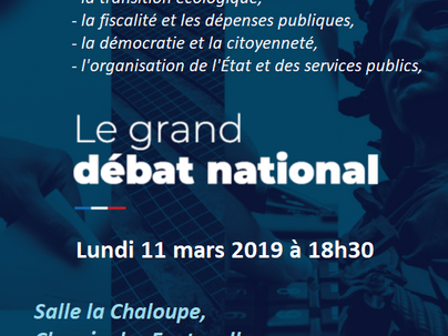 GRAND DEBAT NATIONAL A LOUVIERS