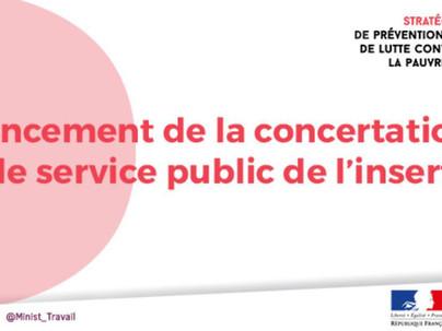 Lundi 09/09/2019: Muriel PENICAUD lance la concertation sur le service public de l'insertion