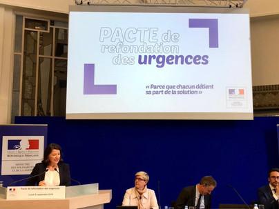 Lundi 09/09/2019 : Agnès BUZYN présente le plan Urgences