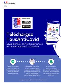 22/10/2020 : lancement de la nouvelle plateforme TousAntiCovid