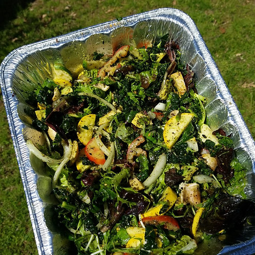 Vegan Fresh Salad Greens