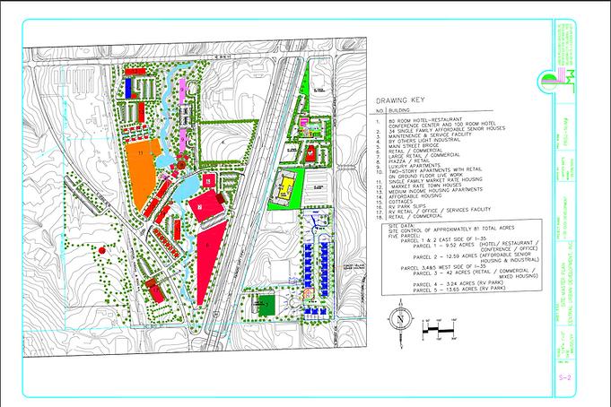 Central Urban Development, Inc. Master Plan