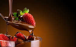 chocolate-and-strawberries-dessert-720P-wallpaper