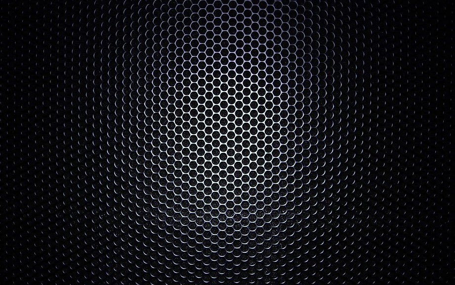 Speaker Grill - up close and personal