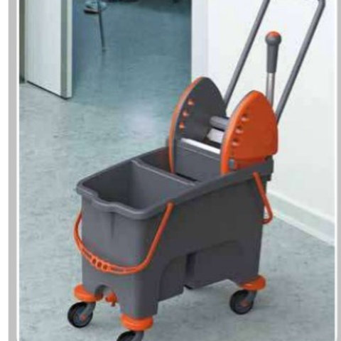 Duetto Double Bucket Mopping System