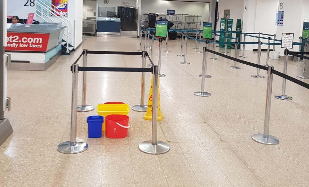 Airport requiring SlipStop