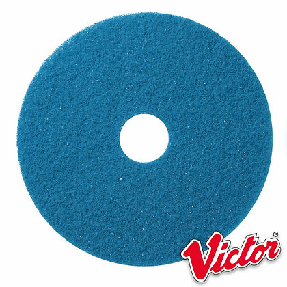 "17""  Blue Cleaning Floor Pads  - Box of 5 - VE17BLUE"