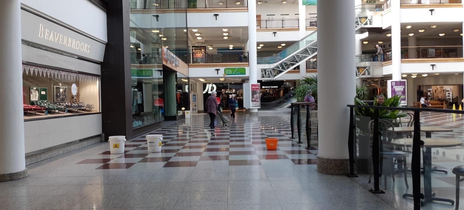 Prestigious shopping mall