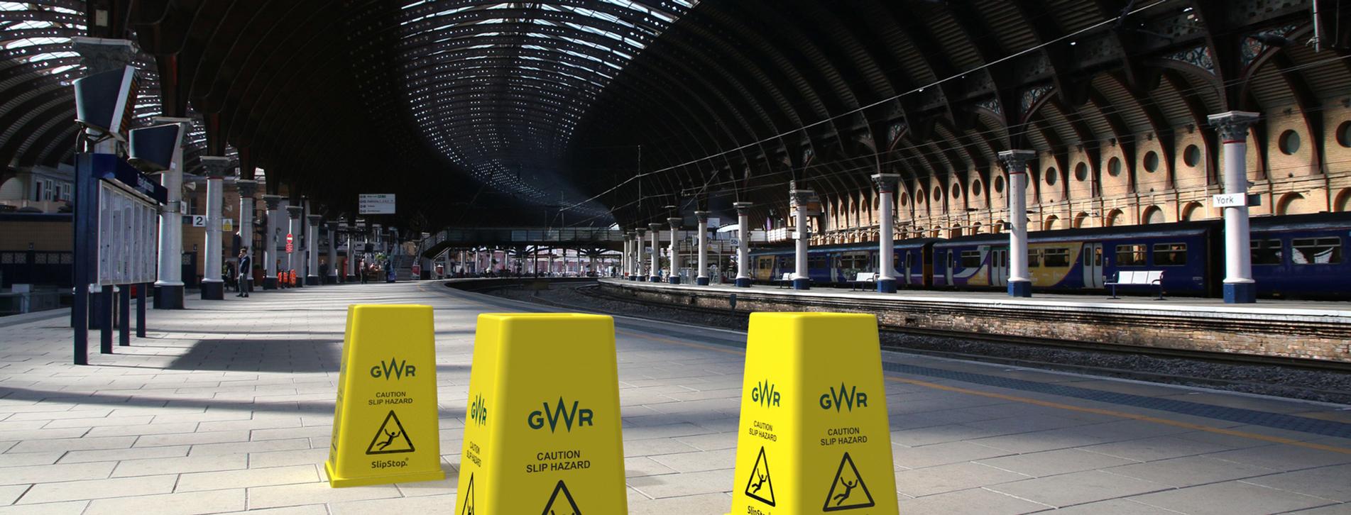 SlipStop Cone branded GWR