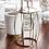 Thumbnail: Kovový stolek - zlatý