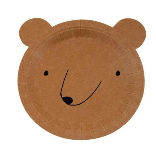 Talíř - medvídek / sada 12 ks