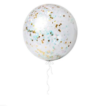 Sada obřích duhových balónků / 91 cm
