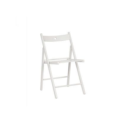 Židle G skládací - bílá