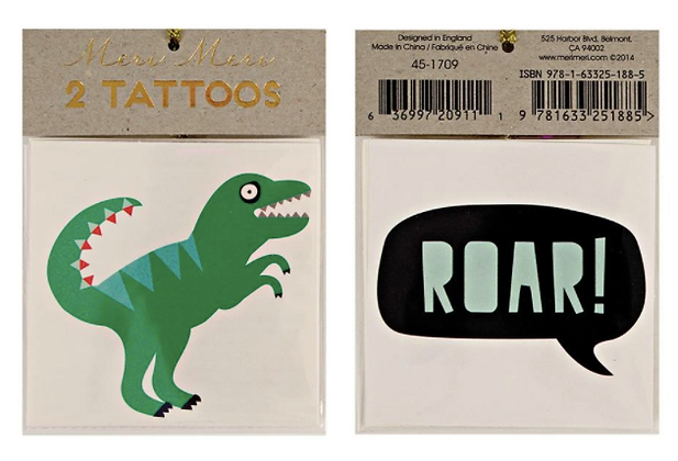 Tetování Dinosauři