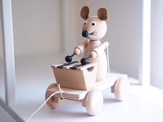 Myš s xylofonem
