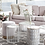 Thumbnail: Lounge stolek WIRE vysoký - bílý / set 2 ks