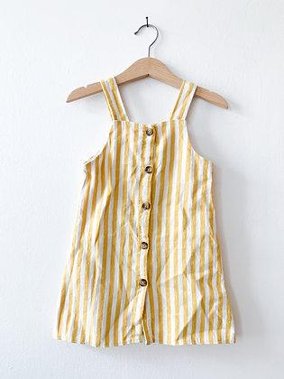 Pruhované šaty, F&F, vel. 2-3 roky