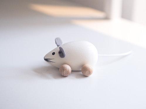Myška bílá