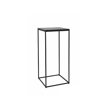 Bistro stolek 80 x 40 cm - černá / černá