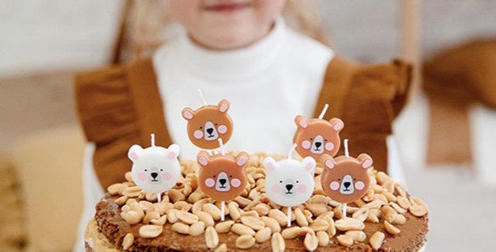 Svíčky medvídek