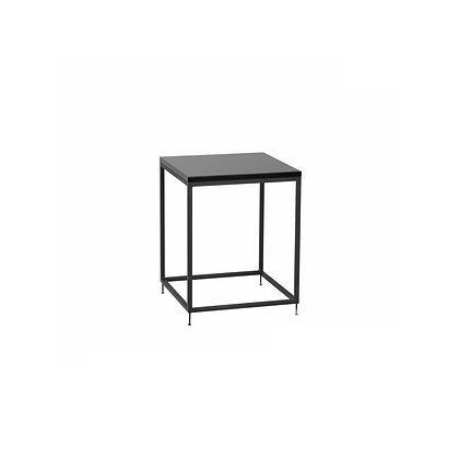 Stolek 40 x 40 cm - černá / černá