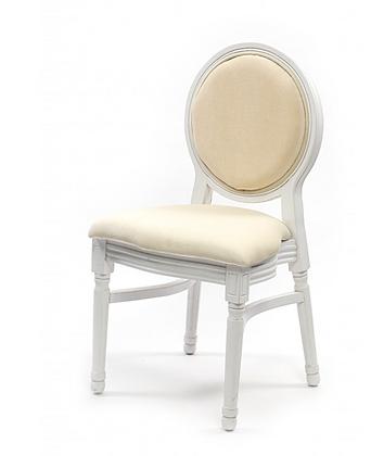 Židle Louis - bílá