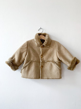 Italský kabátek s kožíškem