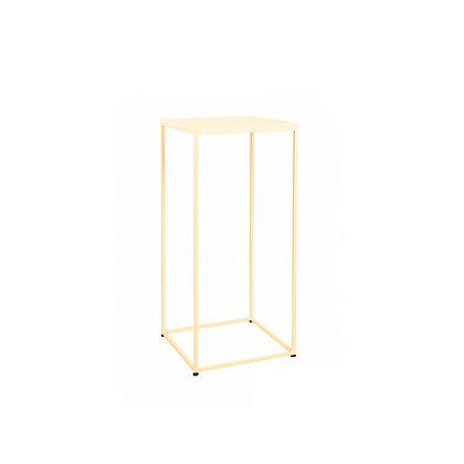 Koktejlový stolek - zlatý