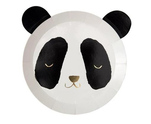 Talíř - panda