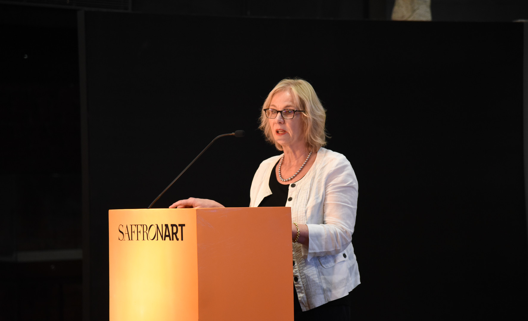 Susan Stronge, Senior Curator of the Asian Department, Victoria & Albert Museum London, discussed jewellery from the Mughal courts of India.