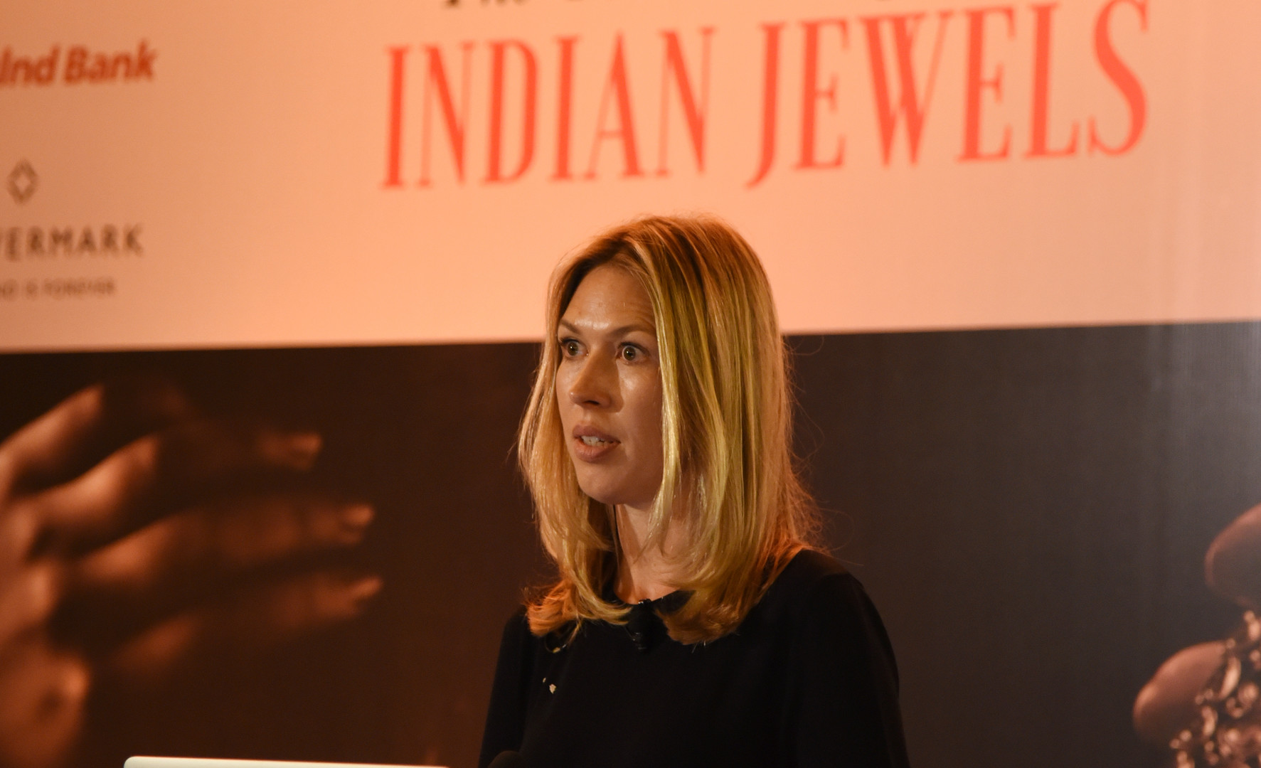 Francesca Cartier-Brickell's talk illustrated Cartier's India connection using the unpublished letters and diaries of her great-grandfather, Jacques Cartier.
