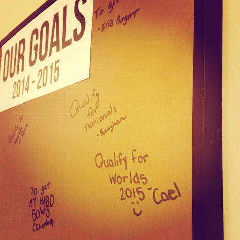 On Goals...
