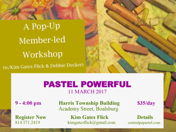 Pastel Powerful - Member-Led Workshop