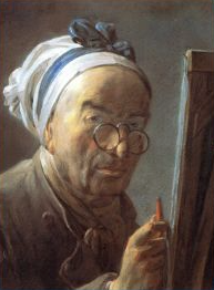 Chardin - Self Portrait