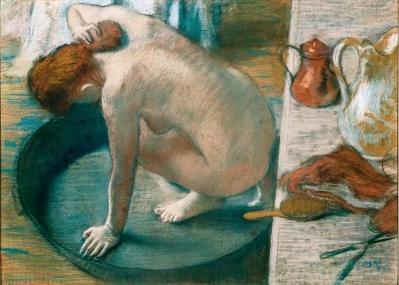 Degas - The Tub