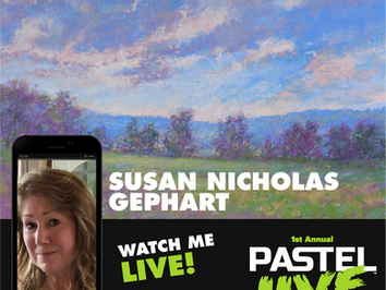 Susan Nicholas Gephart will be faculty at Pastel Live