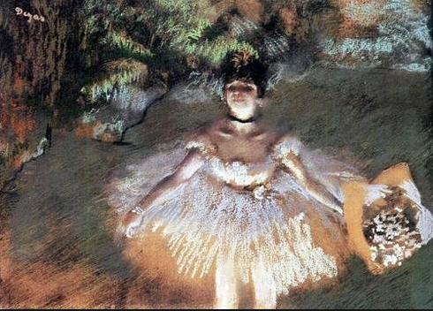 Degas - Dancer with Bouquet