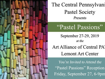 All Member Show: Pastel Passions