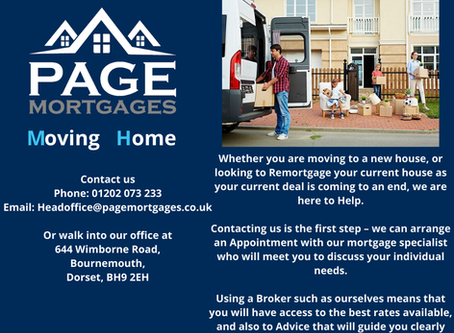 Moving Home Or Remortgaging?