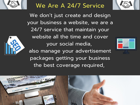 We Are A 24/7 Service