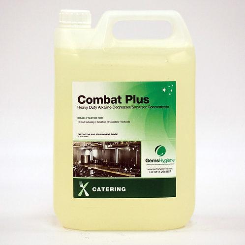 Combat Plus - Alkaline Degreaser/ Sanitiser (5L)