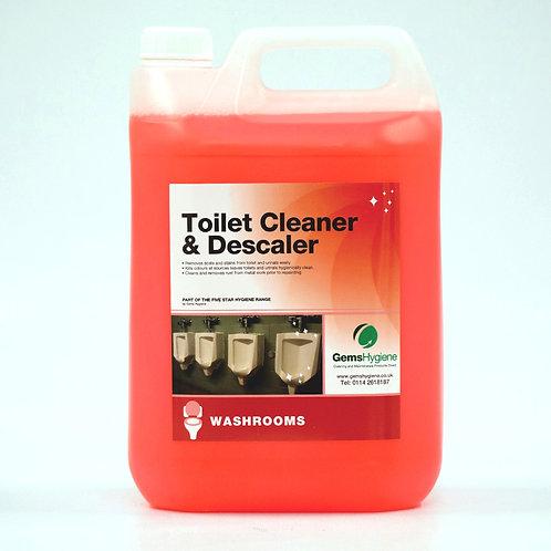 Toilet Cleaner & Descaler (5L)