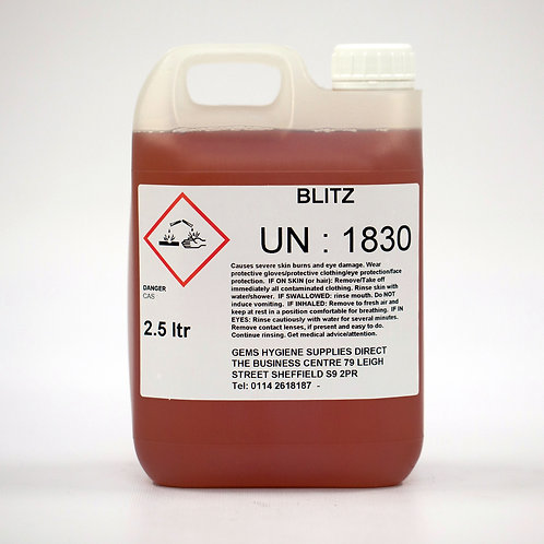 Blitz - Acid Drain Cleaner (2 x 2.5L)