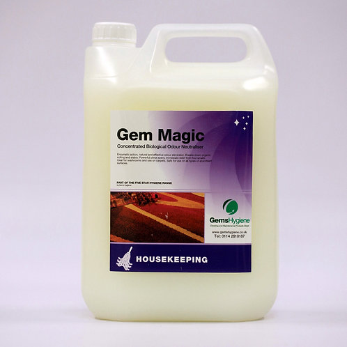 Gem Magic - Absorbent Surfaces Odour Neutraliser (5L)