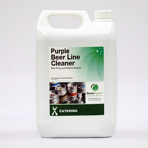 Purple Beer Line Cleaner (5L)