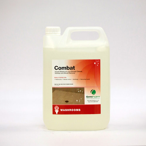 Combat - Mould & Harmful Bacteria Protection (5L)